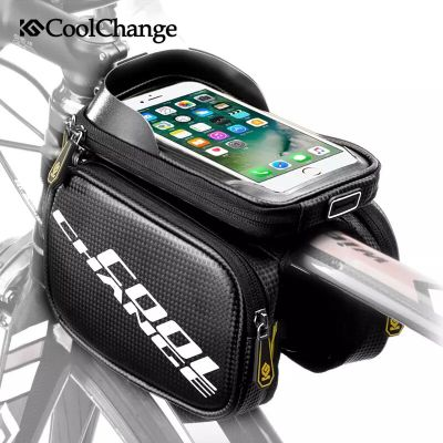 Phone case with the bag for cycle