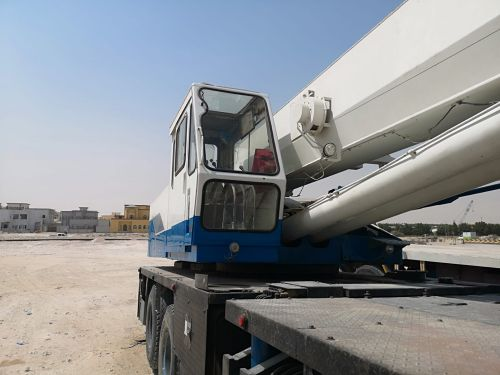 Required Mobile Crane 50 tons
