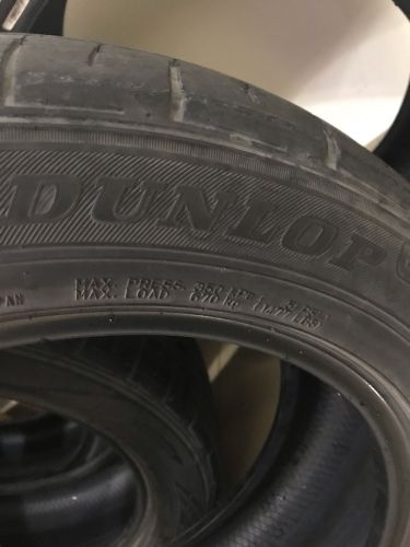 Dunlop used tire
