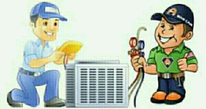 Maintenance of all types of air conditio
