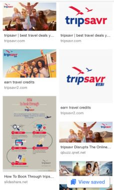 Sale for tripsavr a/c