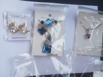 woman accessories and jewelry sets