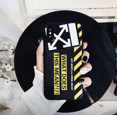 Cover I phone 7 off white