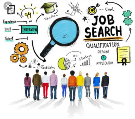 Searching For Job in any official work