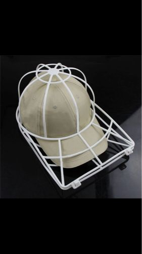 Secure the cap during washing