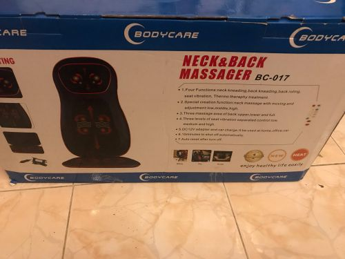 Back, feet and hand massagers