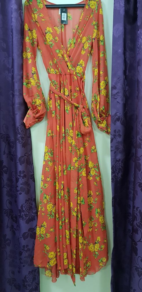 Gown and shoes of ED HARDY for sale