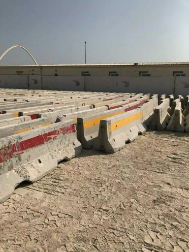 Concrete barriers available