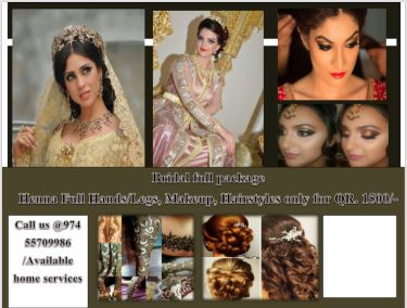 Full package for bridal  package