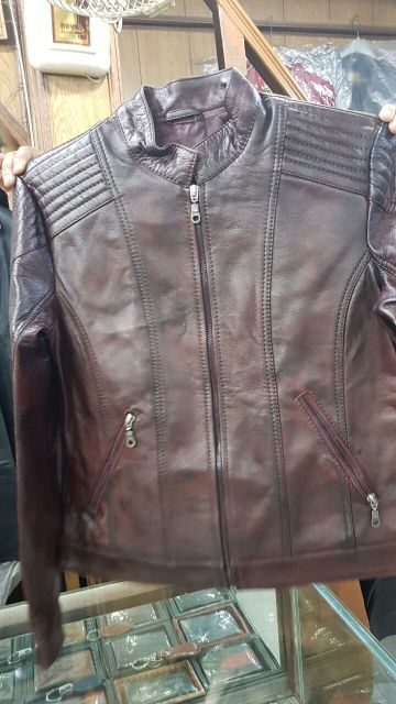 Genuine leather jackets for ladies