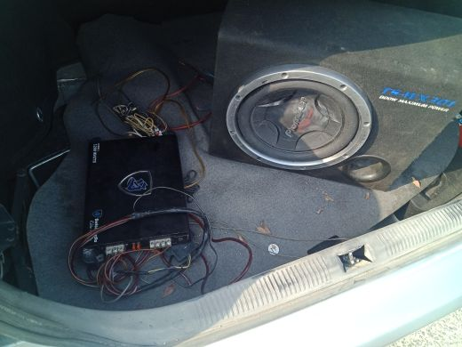 sub woofer with amplifier for sale