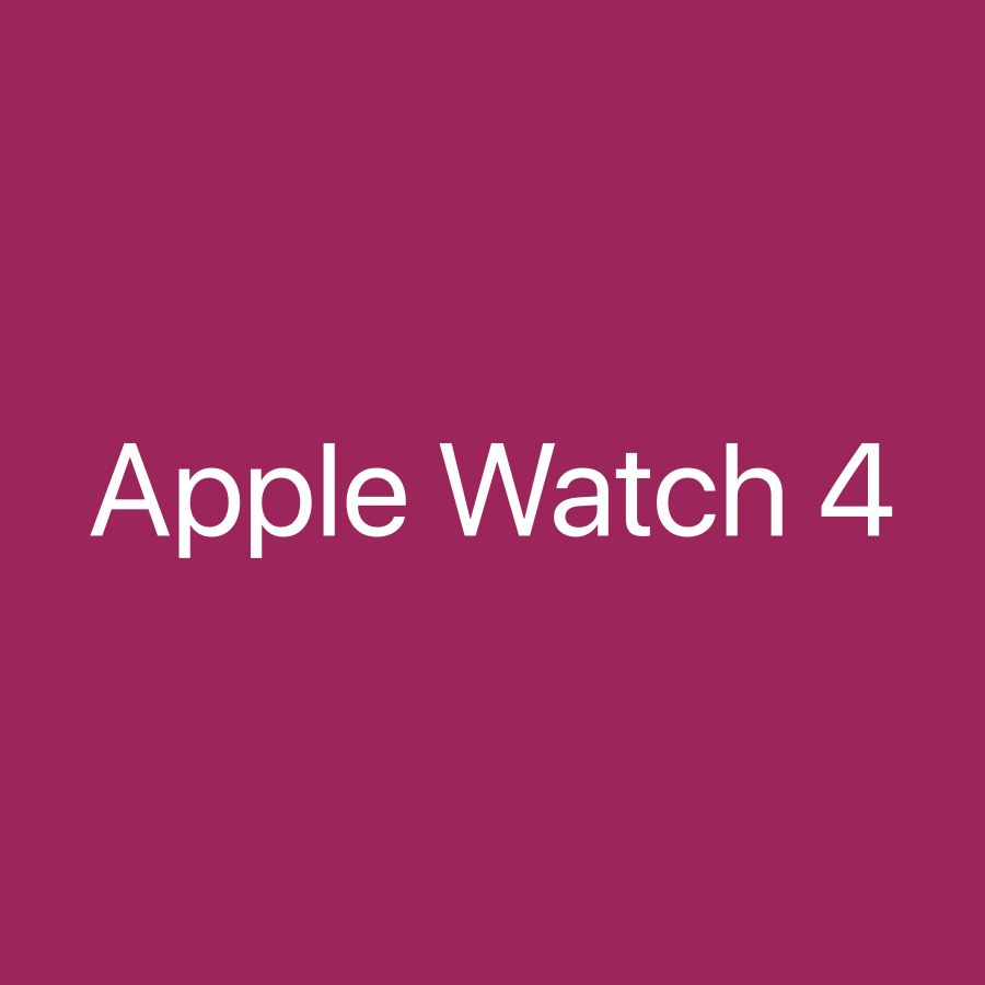 Wanted Apple Watch 4