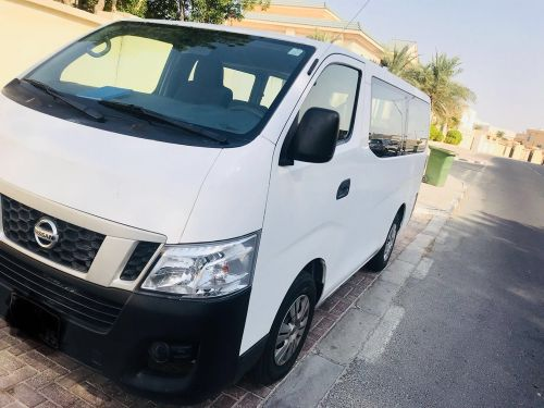 Urvan for rent with driver