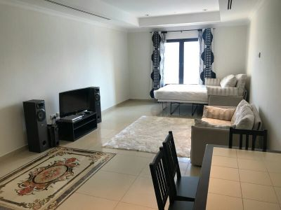 New furnished studio for rent in pearl