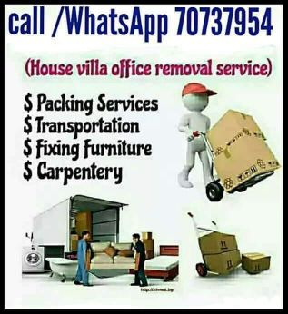 MOVING SHIFTING CARPENTER PAKING SERVICE