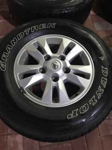 Toyota rims with tire