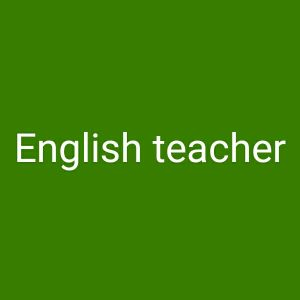 English teachers are hiring