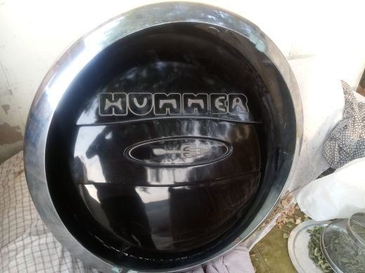 Hummer H3 Spare Tyre Cover with lock and