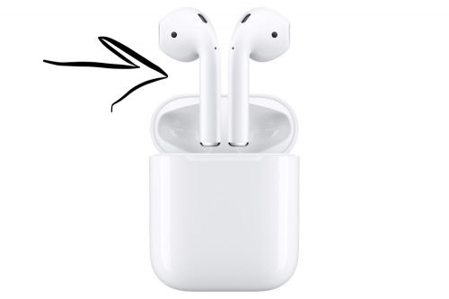 AirPods left
