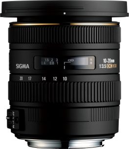 Sigma 10-20mm for Canon
