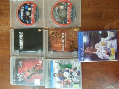 PS4 AND PS3 games for sale or swap