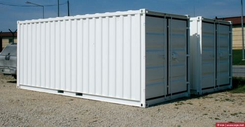 Containers 20 feet need