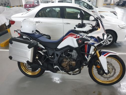 Africa Twin DCT 2017 new