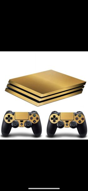 want ps4 pro sticker