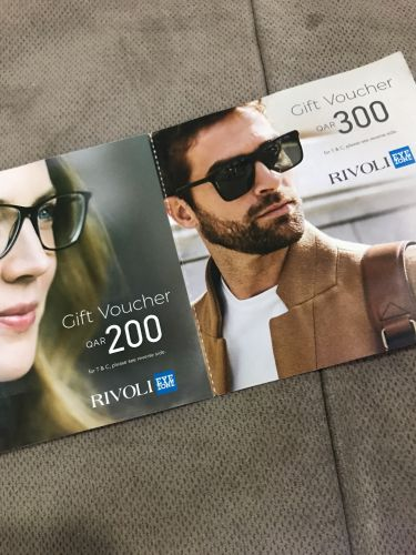 RIVOLI JEWELRY Voucher card!!