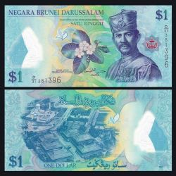 Brunei 1 Dollar
