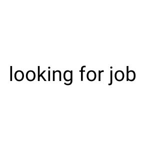 I'm from Pakistan looking for job