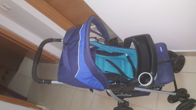 stroller and carseet