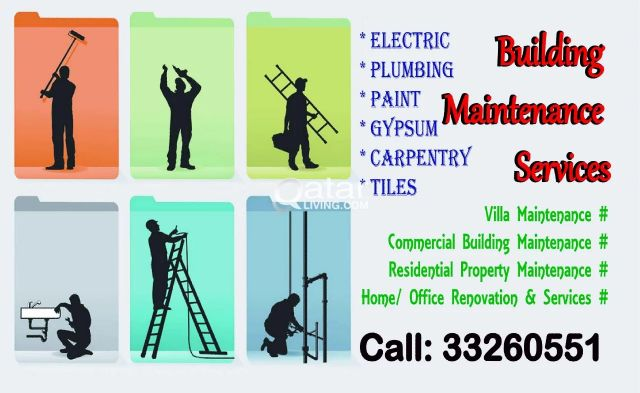 Home and office maintenance