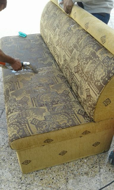 Carpet cleaning and chairs