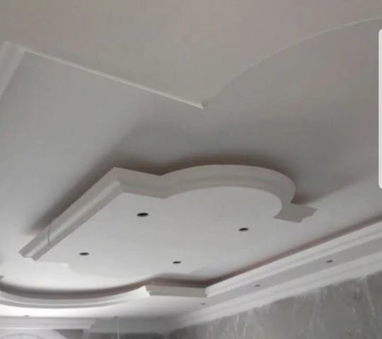 gypsum work and partition & paint