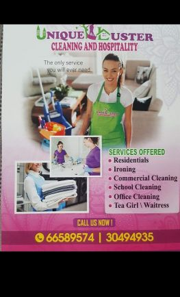 unique luster cleaning and hospitality