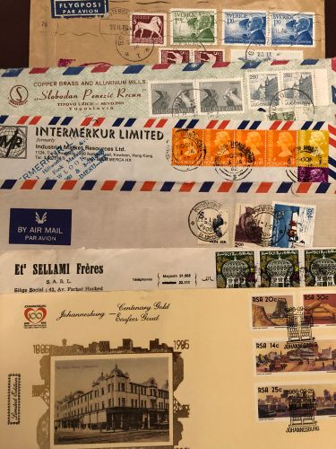 Old envelopes and cards
