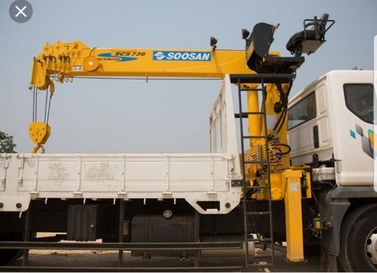 Truck Mounted Cranes new