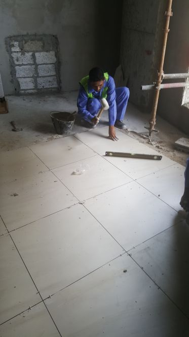 masons for tiles and marble required