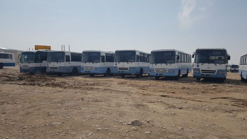 daewoo and layaland bus for sale