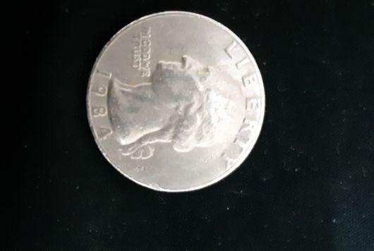 old Liberty usa coin 1984