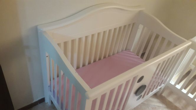 baby bed with matrix and Bamber