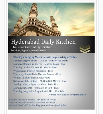 Hyderabad daily kitchen