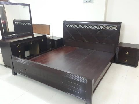 Without cabinet bed set