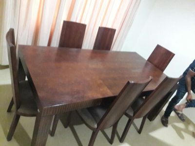 Dining table  6 Char