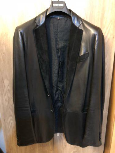 Roberto Cavali leather jacket