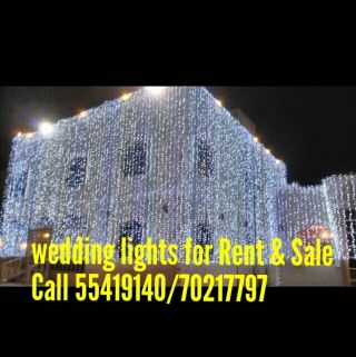 Wedding lighting For Rent.Cal70217797/5