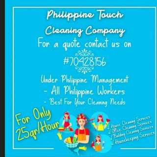 Philippines touch cleaning company
