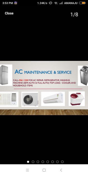 A/C & HOUSE ITEMS FREE CHECK UP