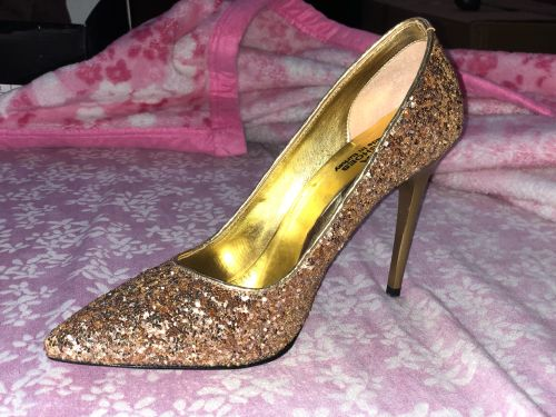 High heals shoes (10 cm) glitter